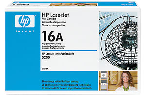 Hp Q7516A Black Toner Original