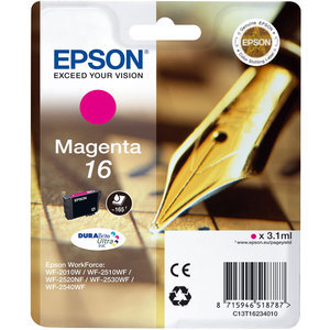 Epson 16 magenta ink cartridge ORIGINAL