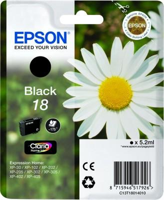 Epson T1801 Black Ink Cartridge Original