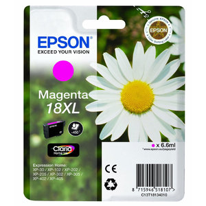 Epson T1813 Magenta Ink Cartridge High-Cap Original
