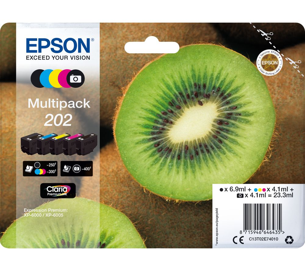 Epson 202 Multi Pack Original 5 pack