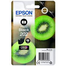Epson 202 photo black ink cartridge original