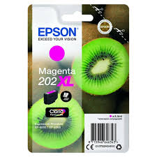 Epson 202XL magenta high-cap ink cartridge original