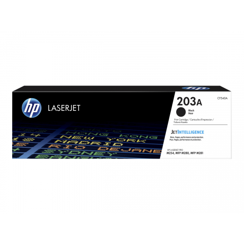 HP 203A CF540A black toner original