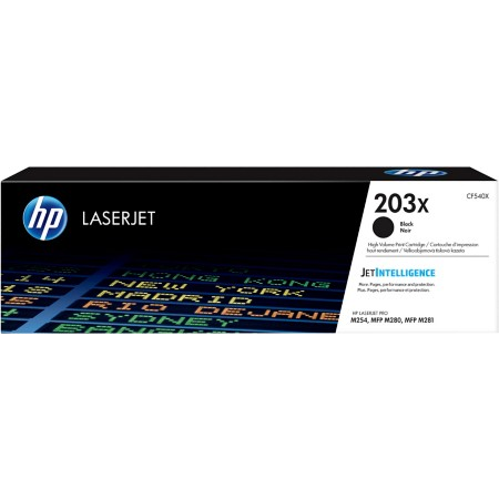 HP 203X CF540X black high-cap toner original