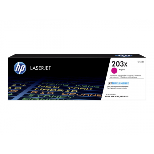 HP 203X CF543X magenta high-cap toner original