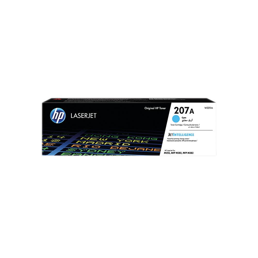 HP 207A LaserJet Toner Cartridge Cyan W2211A