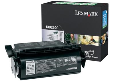 Lexmark 1382920 black toner ORIGINAL