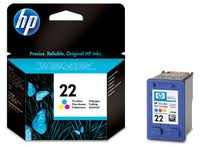 HP 22 Colour Ink Cartridge Original