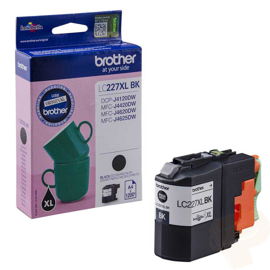 Brother LC227XLBK high capacity black ink cartridge original