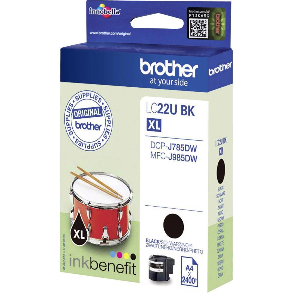Brother LC-22UBK XL black ink cartridge original