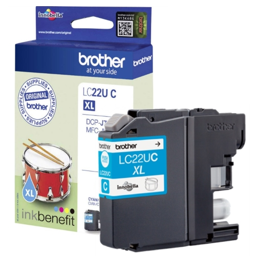 Brother LC-22UC XL cyan ink cartridge original