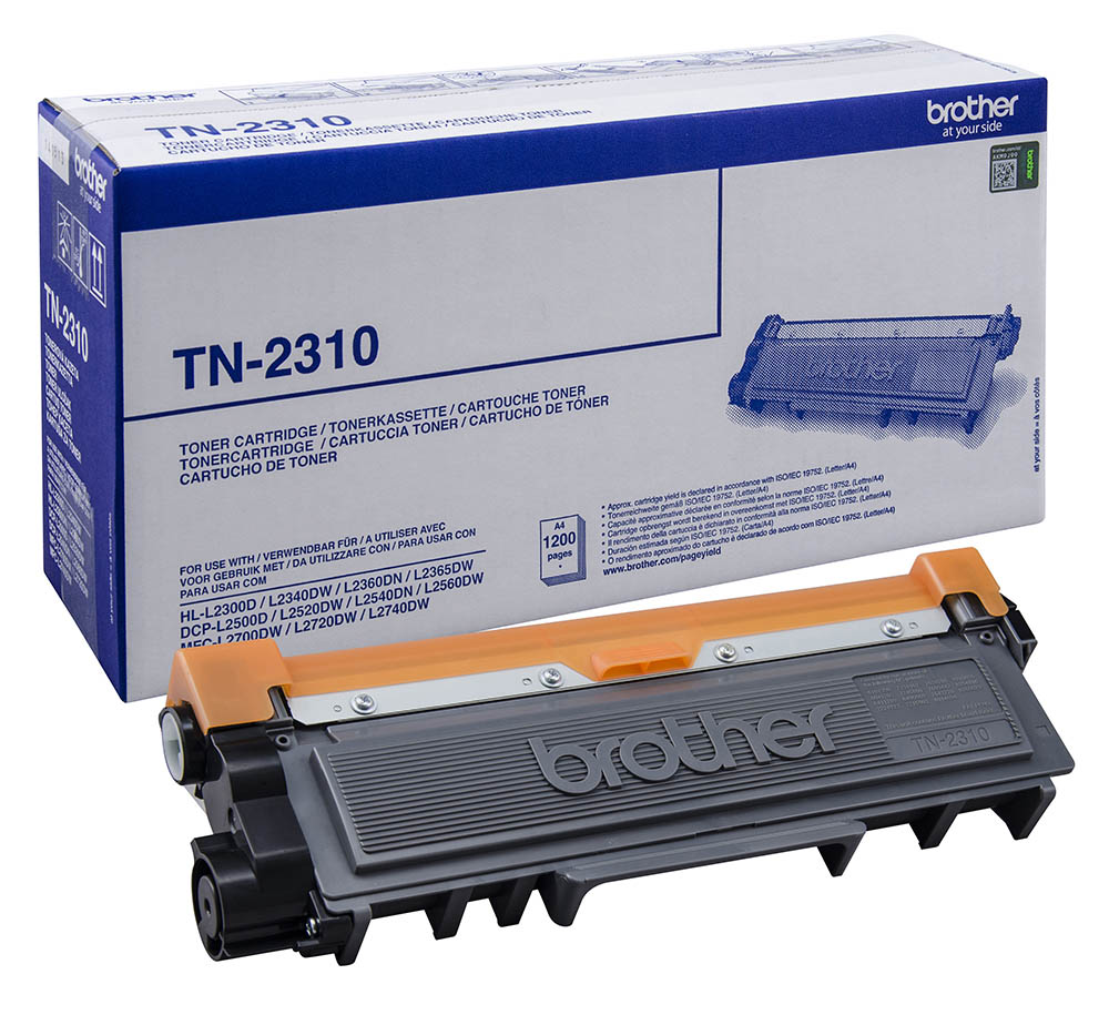 Brother TN-2310 black toner Original