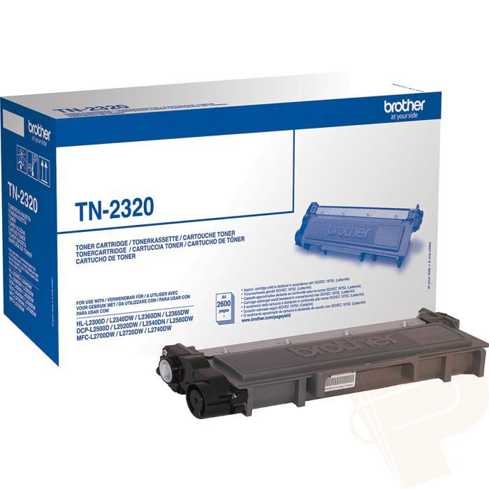 Brother TN-2320 high capacity black toner original