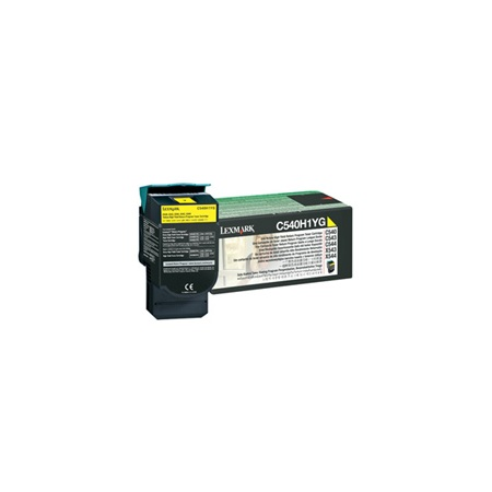 Lexmark C540H1YG high-cap yellow toner original