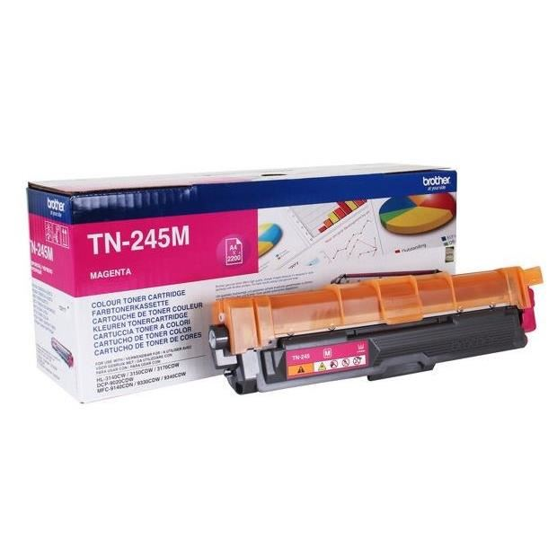 Brother TN-245M high-cap magenta toner original