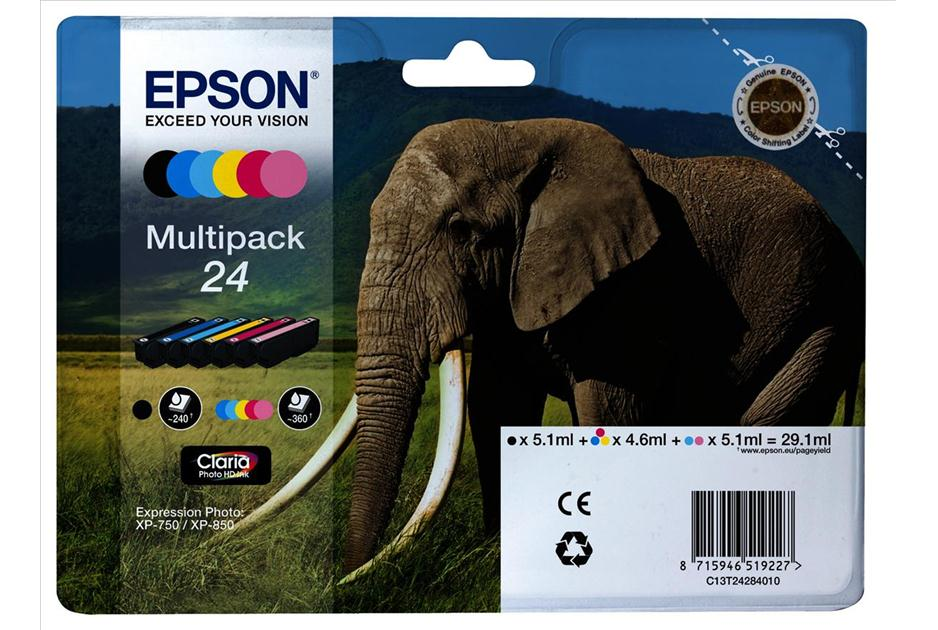 Epson 24 multipack original 6 Pack