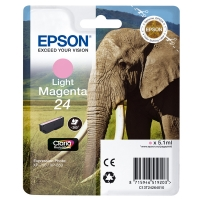 Epson 24 light magenta ink cartridge original