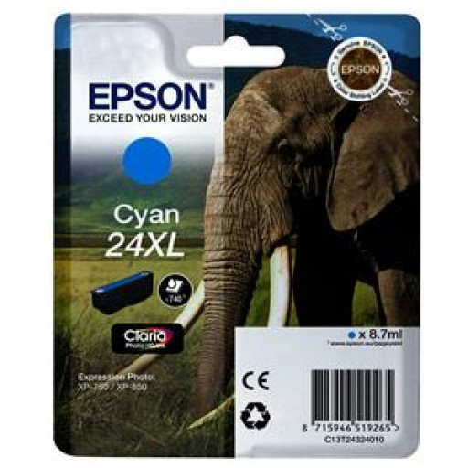 Epson 24XL high capacity cyan ink cartridge original