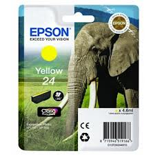Epson 24 yellow ink cartridge original