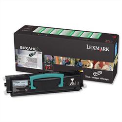 Lexmark E250A11E Black Toner Original