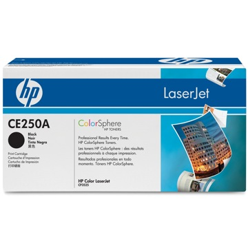 HP CE250A - HP 504A black toner ORIGINAL