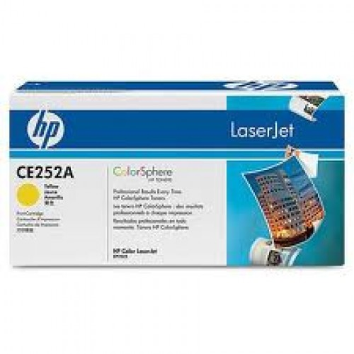HP CE252A  - Hp 504A yellow toner Original