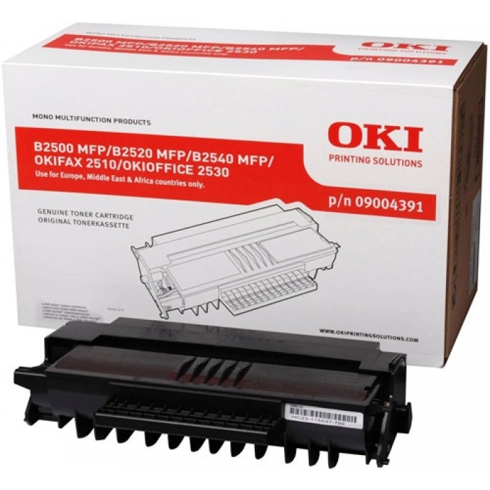 OKI 09004391 high capacity black toner original