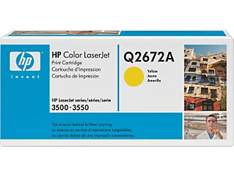 HP Q2672A yellow toner ORIGINAL - Hp 309A Yellow toner