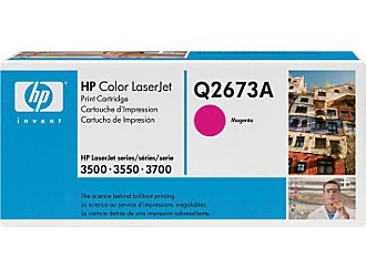 HP Q2673A magenta toner ORIGINAL -  HP 309A Toner magenta
