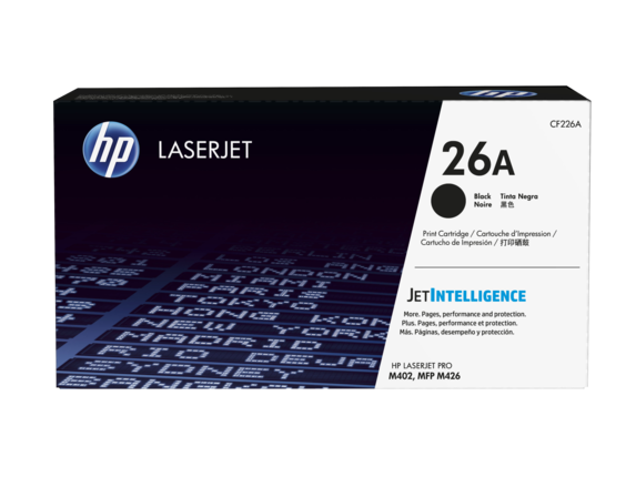 HP 26A black toner Original HP CF226A