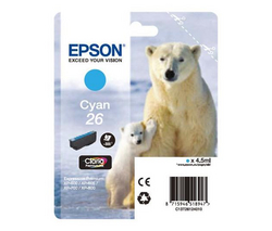 Epson 26 cyan ink cartridge ORIGINAL - Epson T2612 Original