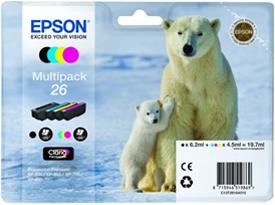 Epson 26 multipack ORIGINAL - Epson T2616 Original