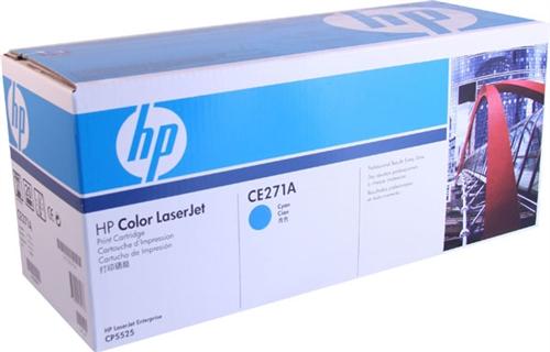 HP CE271A cyan toner ORIGINAL