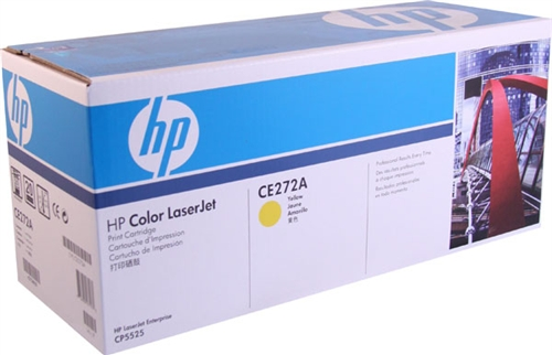 HP CE272A yellow toner ORIGINAL