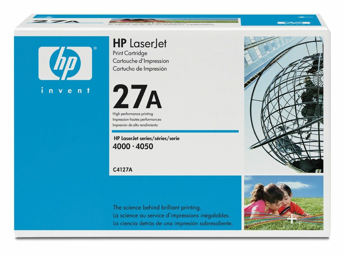HP C4127A Black Toner Cartridge Original