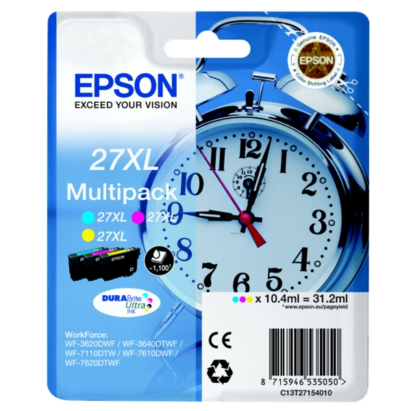 Epson 27XL T2715 3-pack original