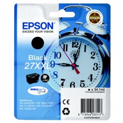 Epson 27XXL T2791 extra high capacity black ink cartridge original