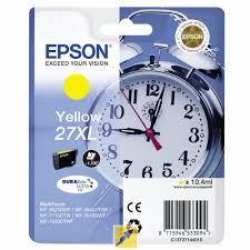 Epson 27XL T2714 high capacity yellow ink cartridge original