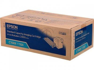Epson AcuLaser C2800 Cyan - Epson 1164 Cyan Toner Original