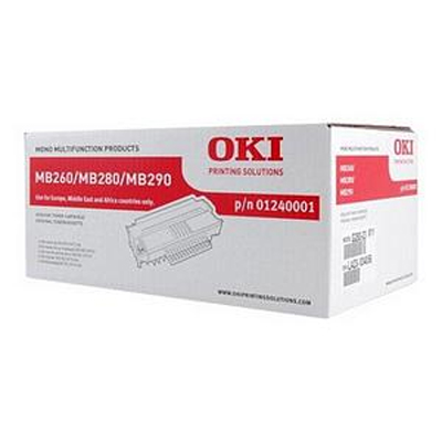OKI 01240001 high capacity black toner original