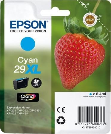 Epson 29XL T2992 cyan high-cap ink cartridge original Epson
