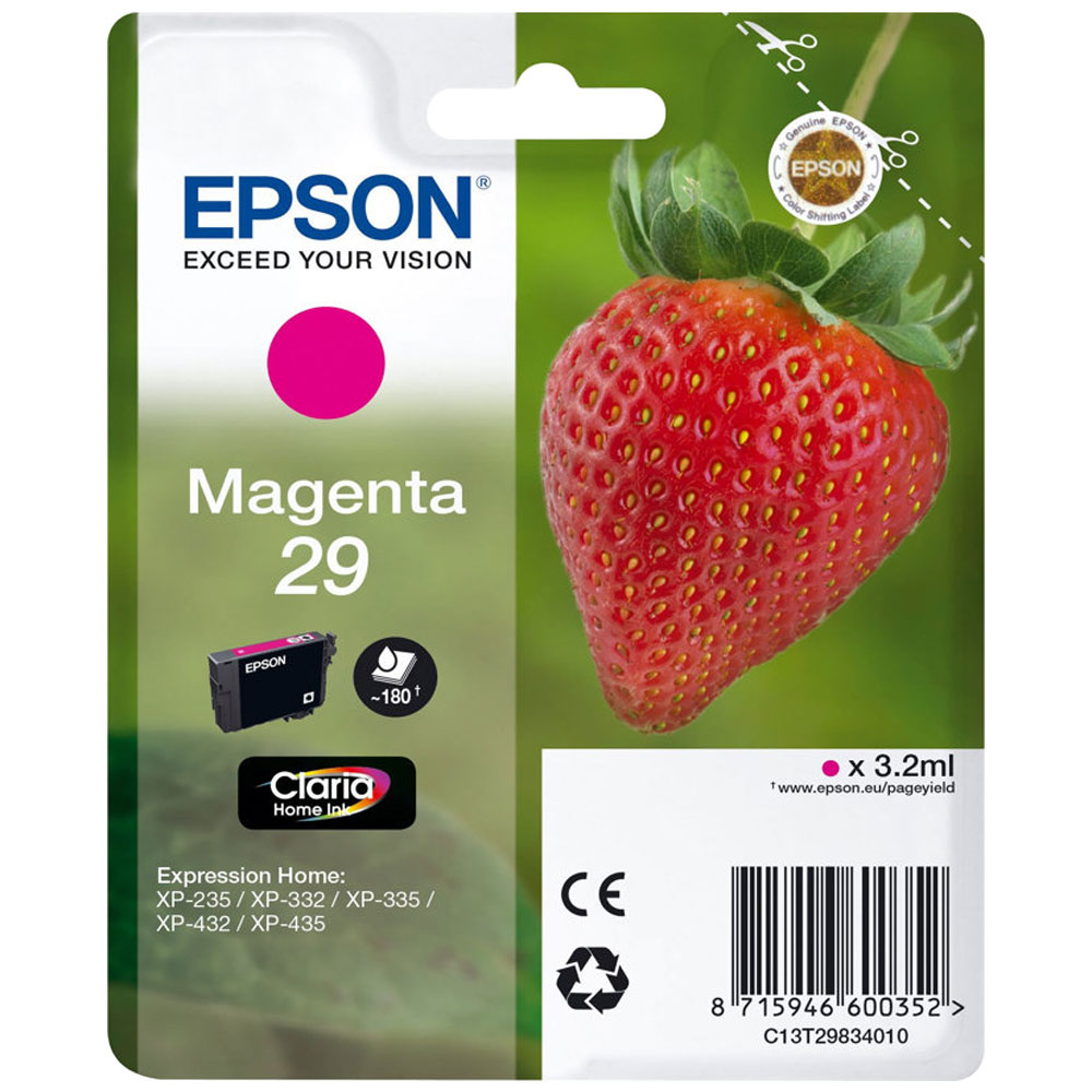 Epson 29 T2983 magenta ink cartridge original Epson