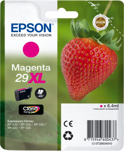 Epson 29XL T2993 magenta high-cap ink cartridge original Epson