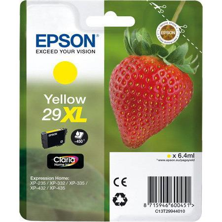 Epson 29XL T2994 yellow high-cap ink cartridge original Epson