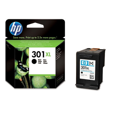 Hp 301 XL Black Ink Cartridge Xl Original