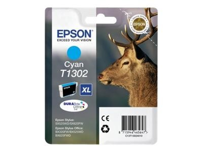 Epson T1302 Cyan Ink Cartridge Extra High Cap Original