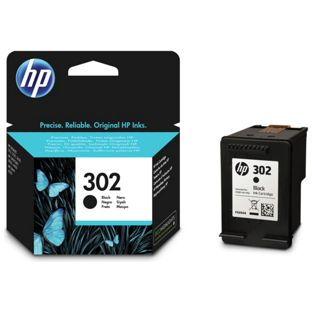 Hp 302 Black Ink Cartridge Original