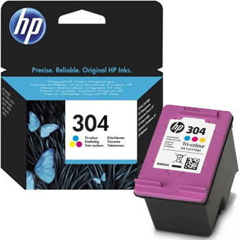 HP 304 Ink Cartridge Tricolour