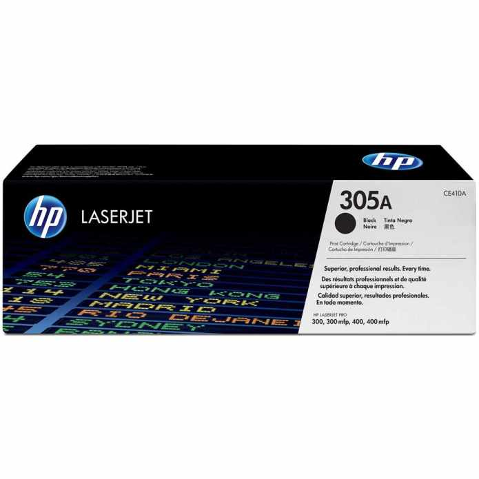 Hp 305A Black Toner - Hp CE410A Black Toner Original